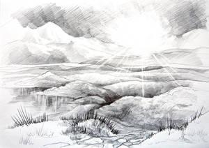 Fantasy landscape no3
