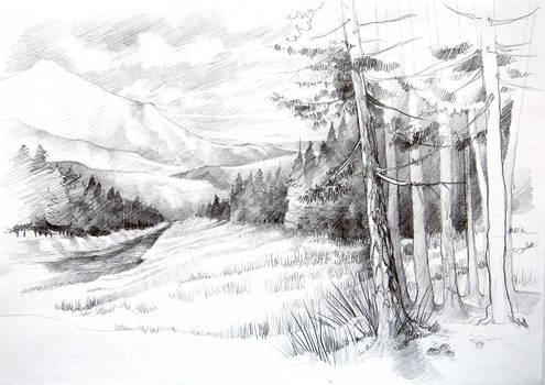Fantasy landscape no4