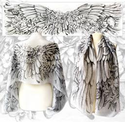 Angelic Wings - ready to go! by MinkuLul