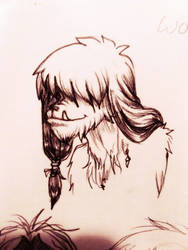 Wookie Doodle by dumn-and-dunmer