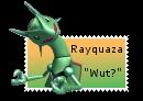 Stamp: Rayquaza -Wut?-