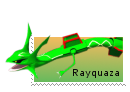 Stamp: Rayquaza by SpyroOandOcynder