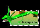 Stamp: Rayquaza by SpyroOandOcynder