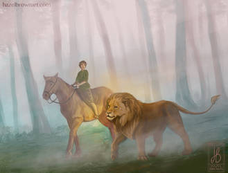 I was the lion by HazelTheHobbit