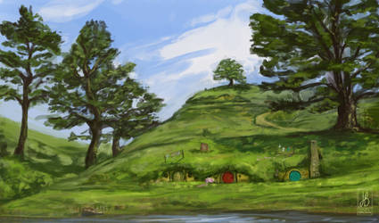 The Shire by HazelTheHobbit