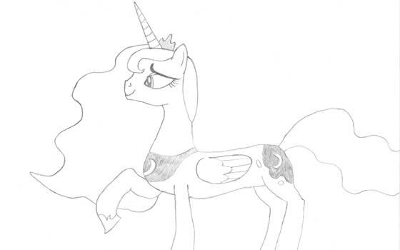 Princess Luna feeling compassionate
