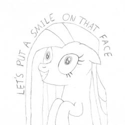Pinkamena LETS PUT A SMILE ON THAT FACE