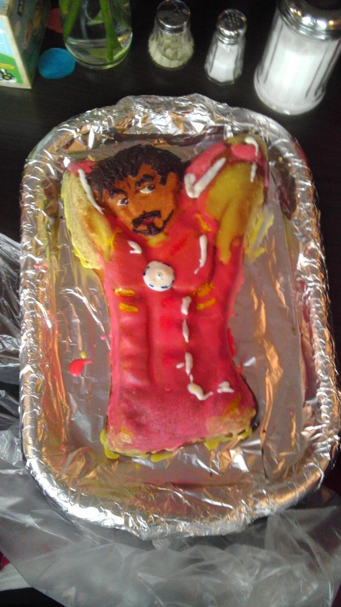 Iron Man cake by awesomeKathi on DeviantArt