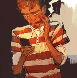 Stranger I saw by Mxprieto