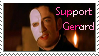 Support Gerard Butler stamp by oh-snapple