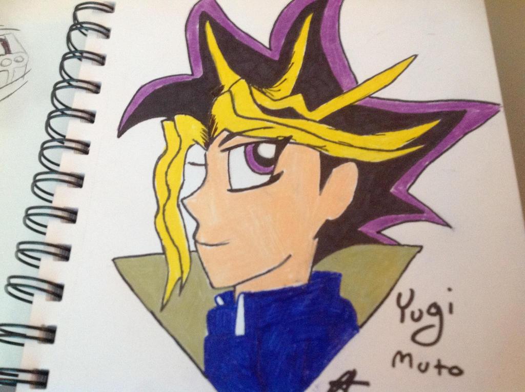Yugi Muto from Yu-Gi-Oh! by NightmareNatsu