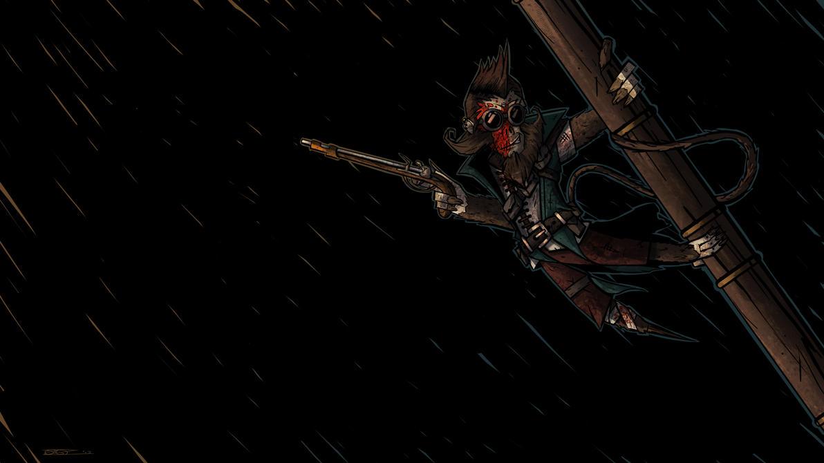 Ashur, Vanara Gunslinger by Mocrasar