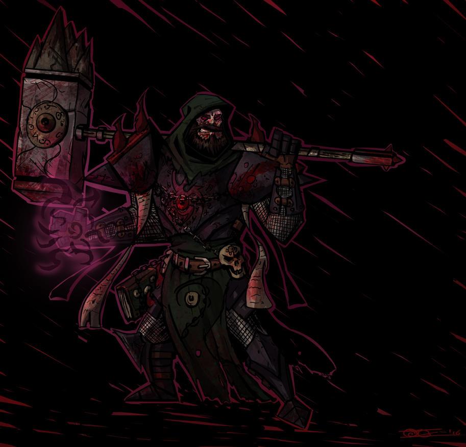 Anzu the antipaladin by Mocrasar