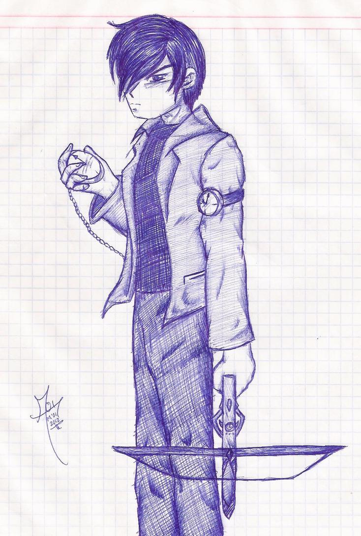 No More Heroes Shirou by IrukaAoi