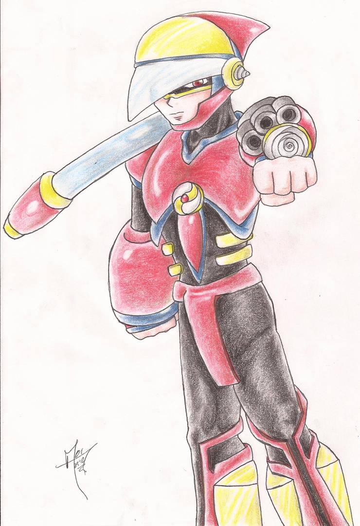 Crash Man.EXE Re Drawing