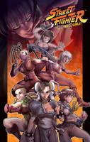 Capcom Gals by ARMYCOM