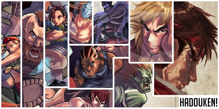 Street Fighter Contest preview by ARMYCOM