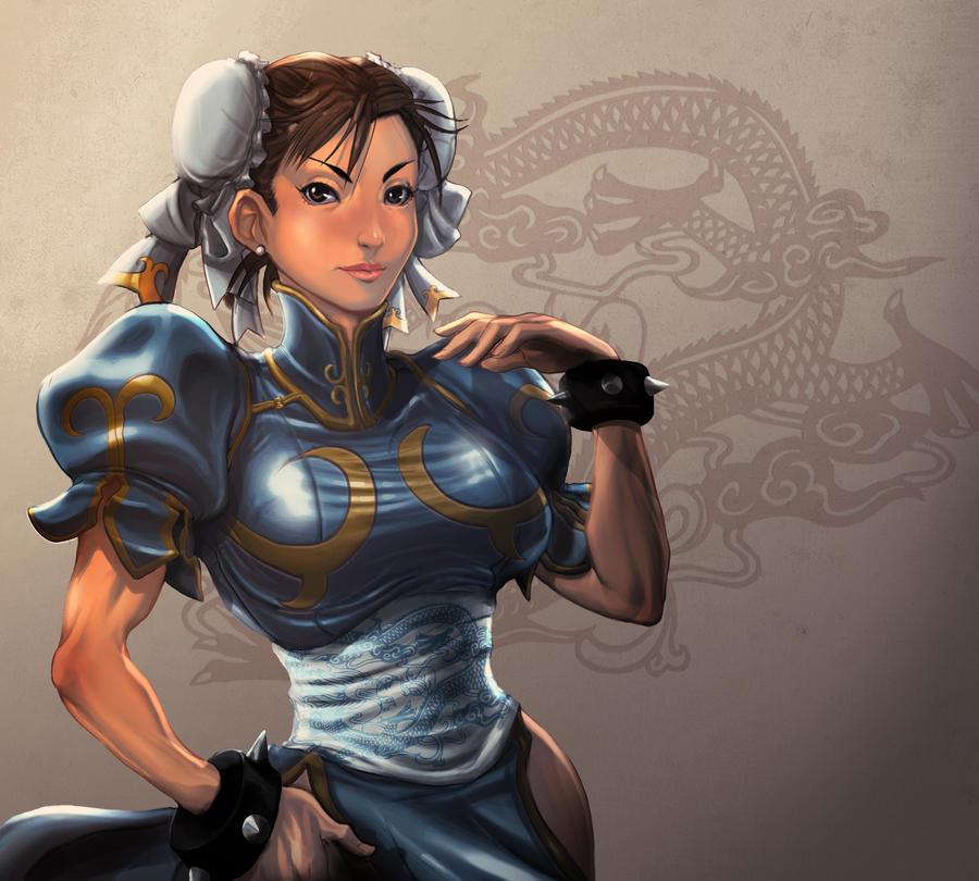Chun Li color try by ARMYCOM