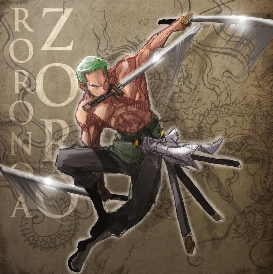 Santoryu Zoro by ARMYCOM