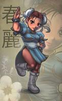 Chibi Chun Li by ARMYCOM