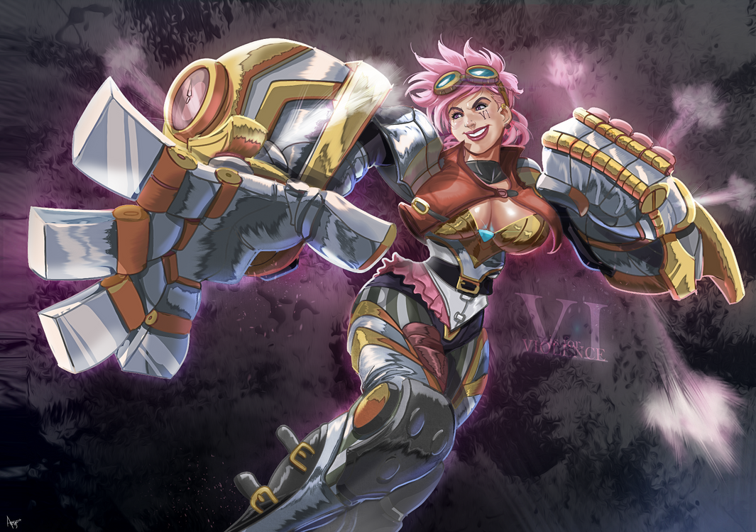 Vi stands for Violence by ARMYCOM