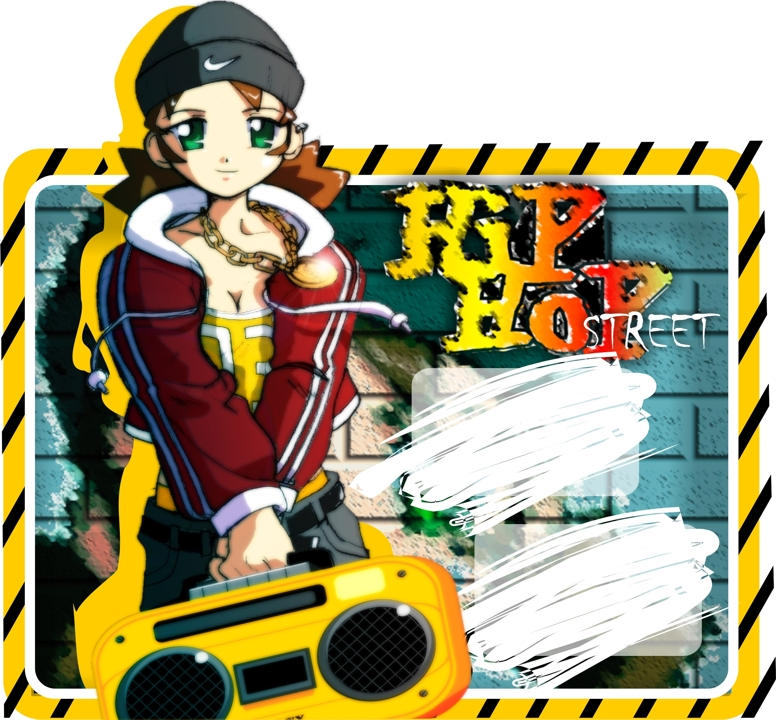 rap girl by ARMYCOM