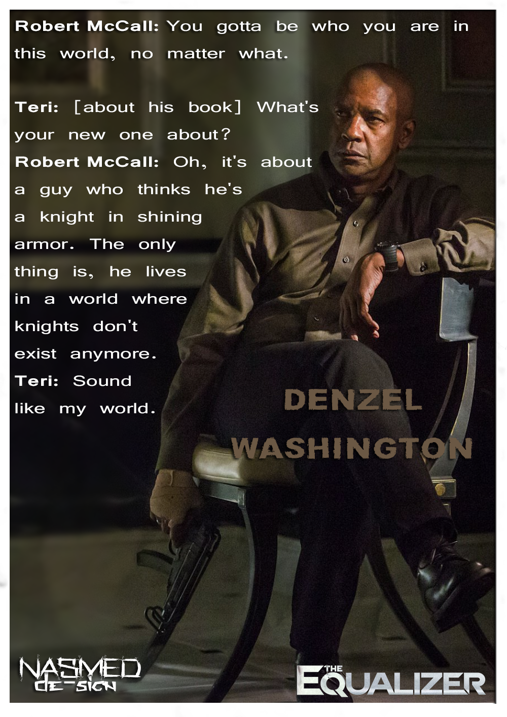 The Equalizer 2014 Quotes By Nassimox95 On Deviantart