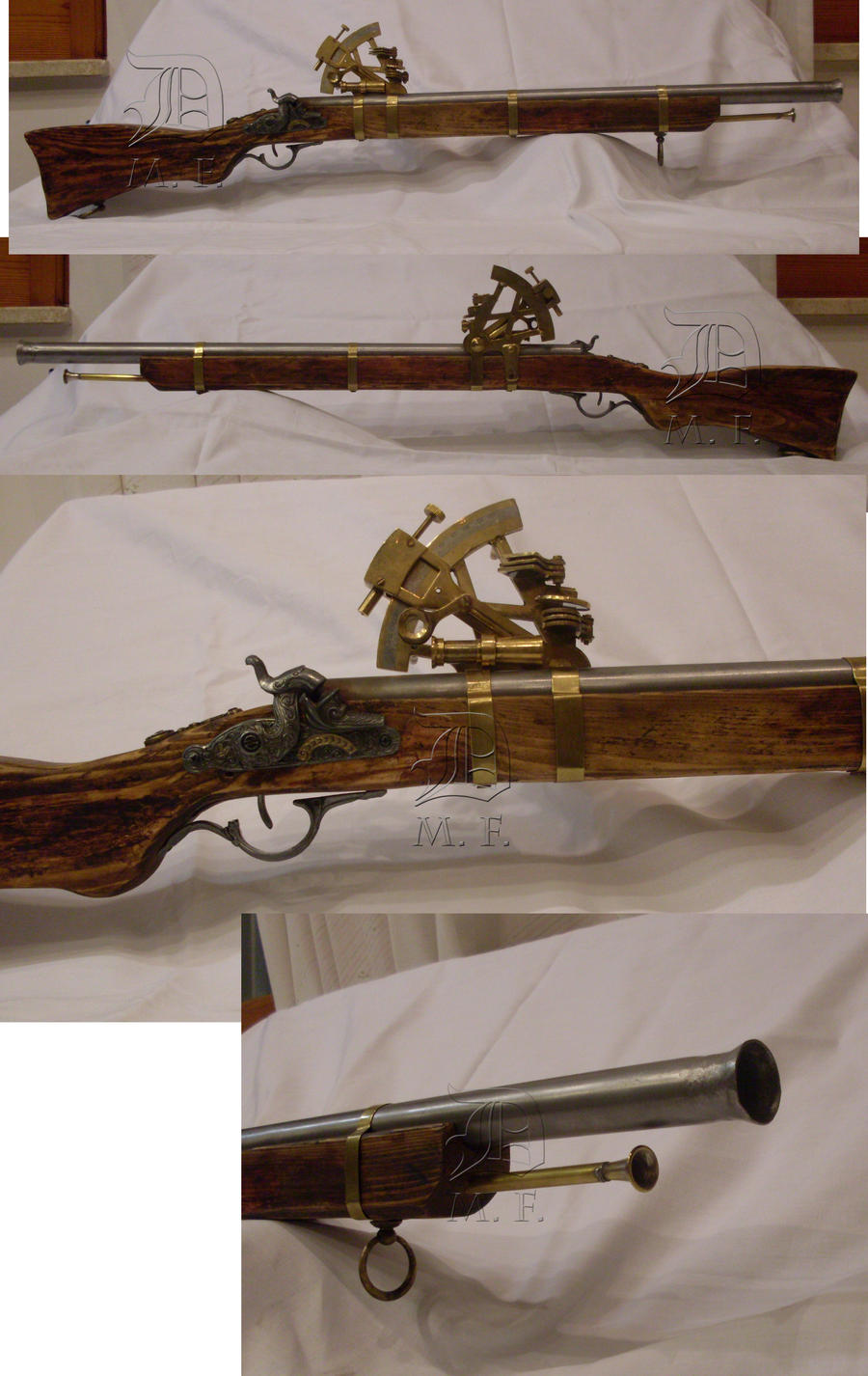 Fucile Steampunk Rifle by Dunkeljorm