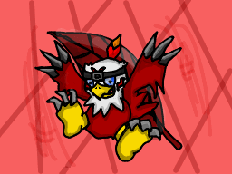 Hawkmon Drawing by digimonforever269