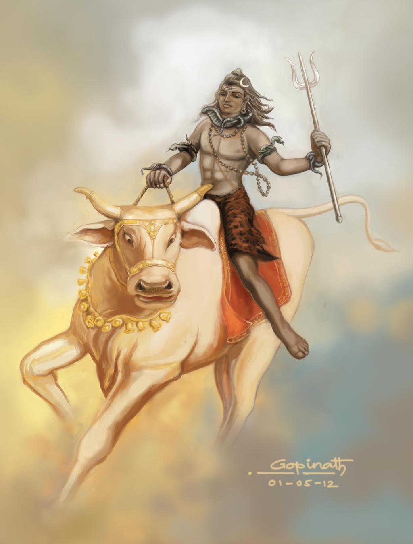 Baba bholenath by connect2gopinath on deviantart for Har har mahadev tattoo