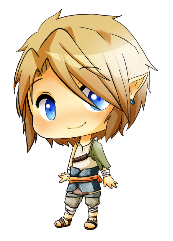 LOZ - Chibi Ordon Link by linkinounet62