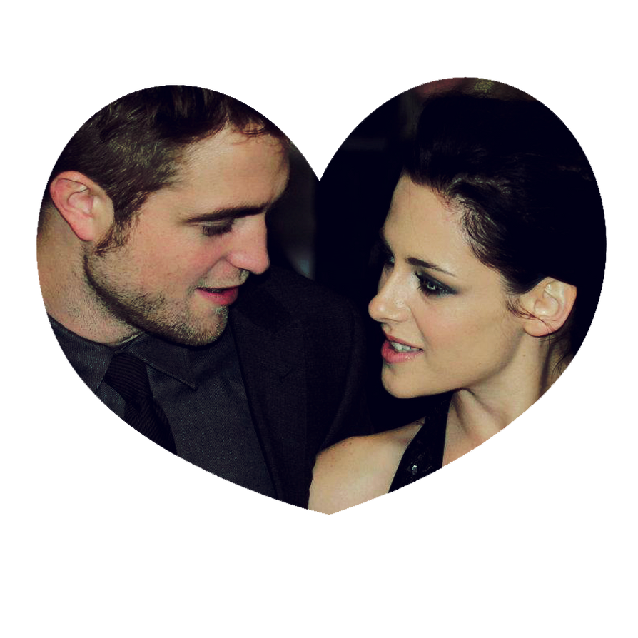 Robert and Kristen heart png by alitutos15