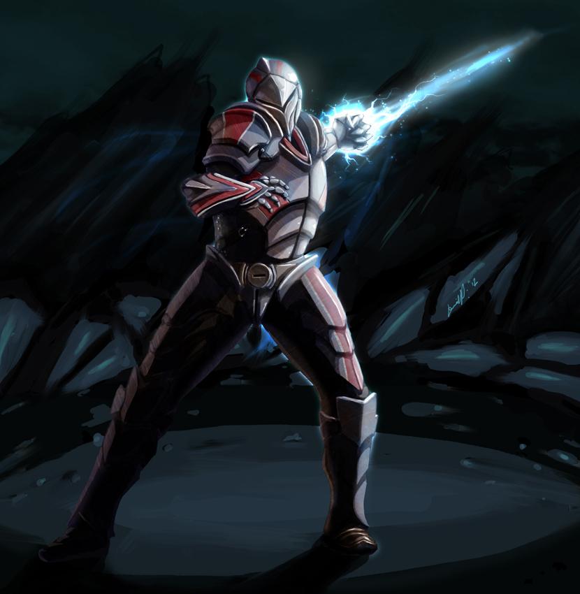 Kingdoms of Amalur: Reckoning, Mass Effect style by Sojumekju