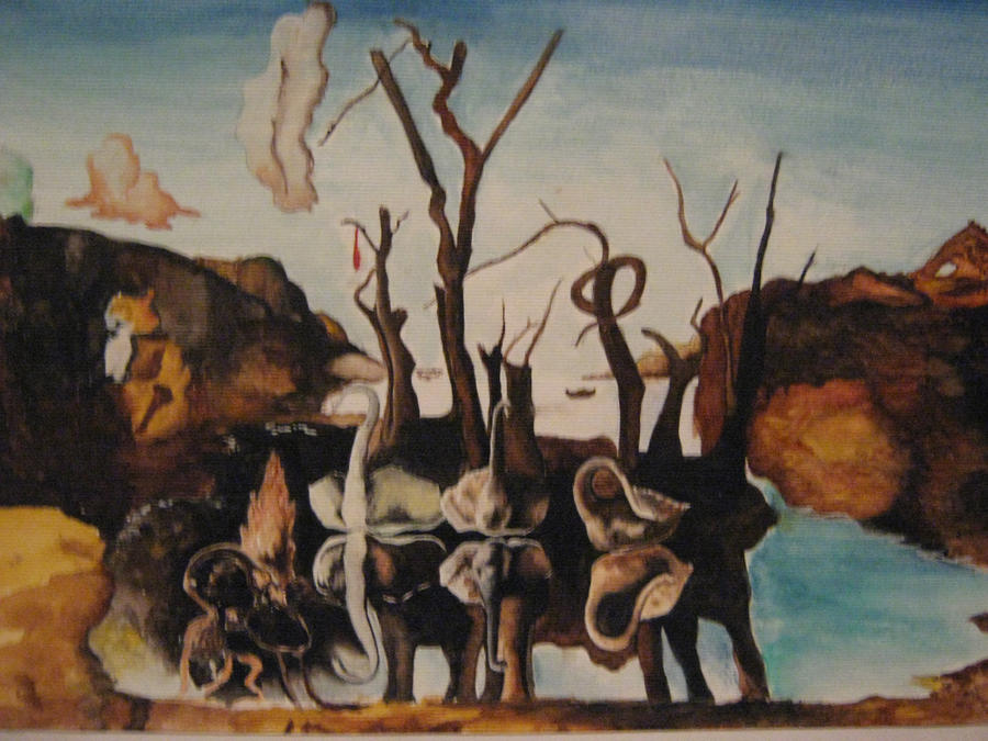 The Face of War Artist Salvador Dalí Year 1940 Medium Oil on canvas Location Museum Boymansvan Beuningen Rotterdam Dimensions 252 in 311 in 100 cm 79 cm