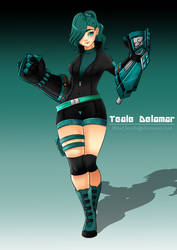 RWBY OC: Teale Delamar by BlissClouds
