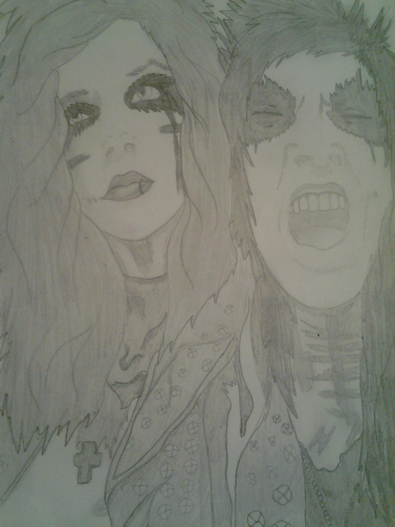 Andrew Biersack and Jake Pitts by AngstyCami