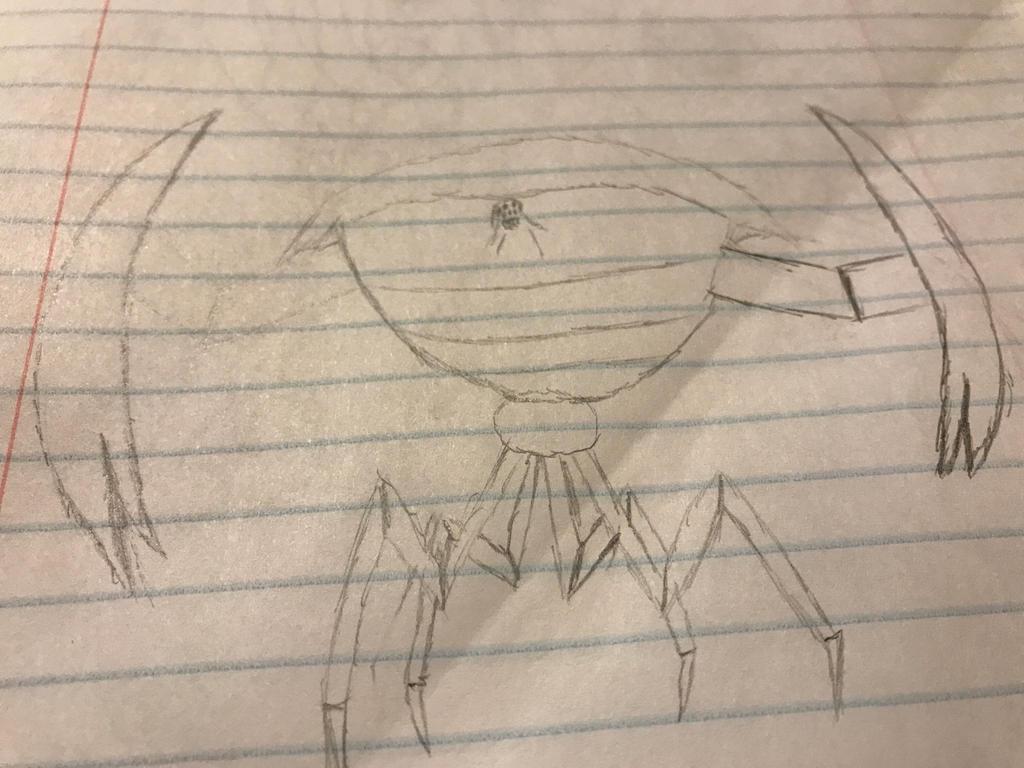 Leviathan crab  by RobotWarrior5