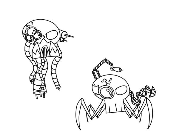 Servo Skulls by RobotWarrior5