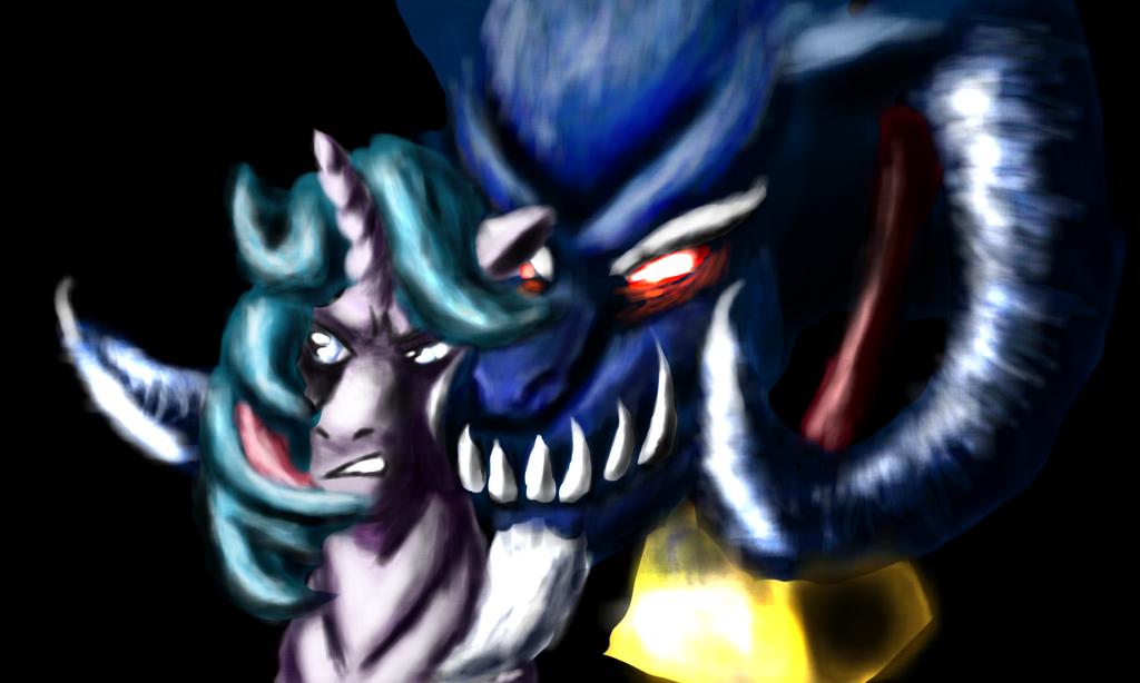 Grogar and Gutsy1 by BillyGGruff