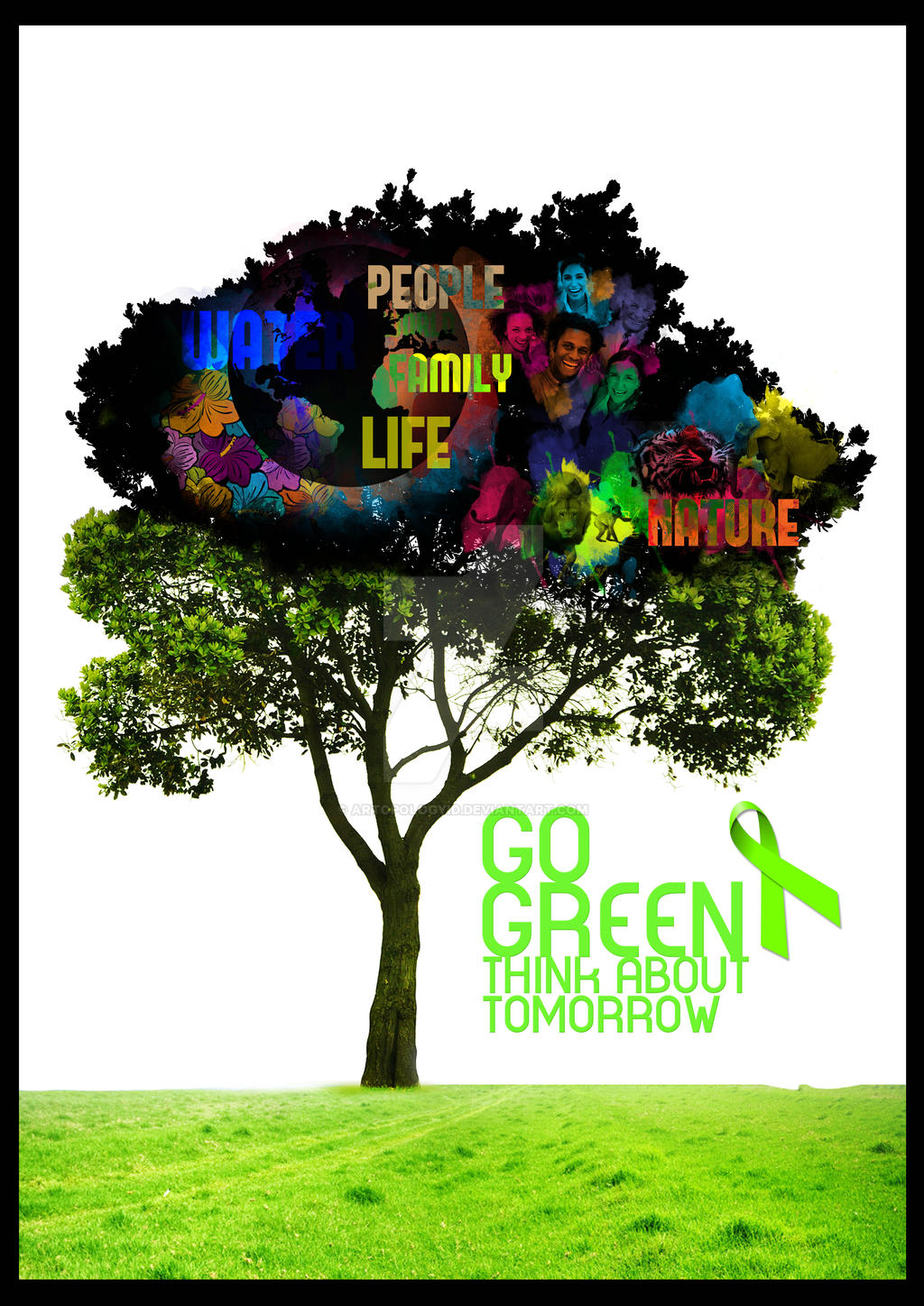 Go Green Poster Competition by artopologyid on DeviantArt