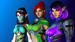 Paladins (2 - Cassie, Ying and Skye)