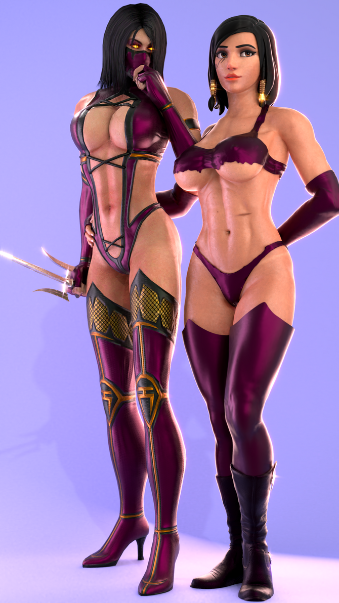 Random (13 a - Pharah and Mileena [B]) by AdeptusInfinitus