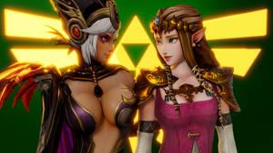 Legend of Zelda (3 b - Cia and Zelda [B])