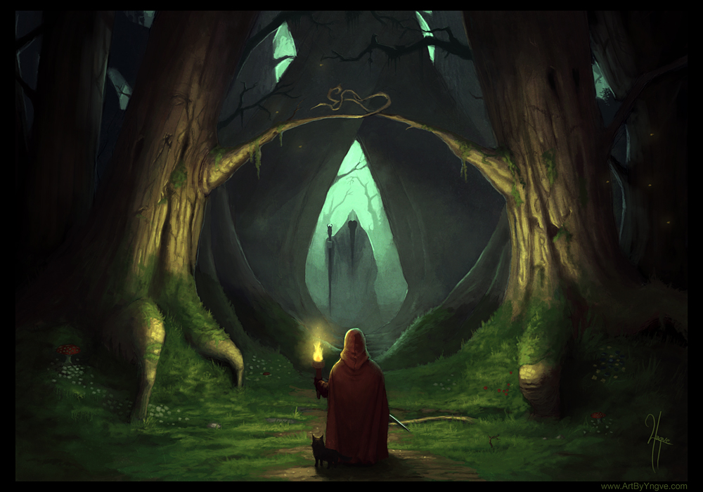 Dark Forest by YngveMartinussen