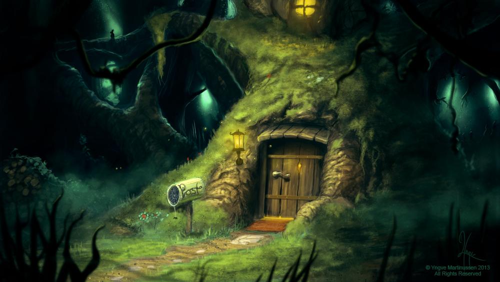 — Du Weldenvarden — Mossy_tree_house_by_yngvemartinussen-d6oz5ph