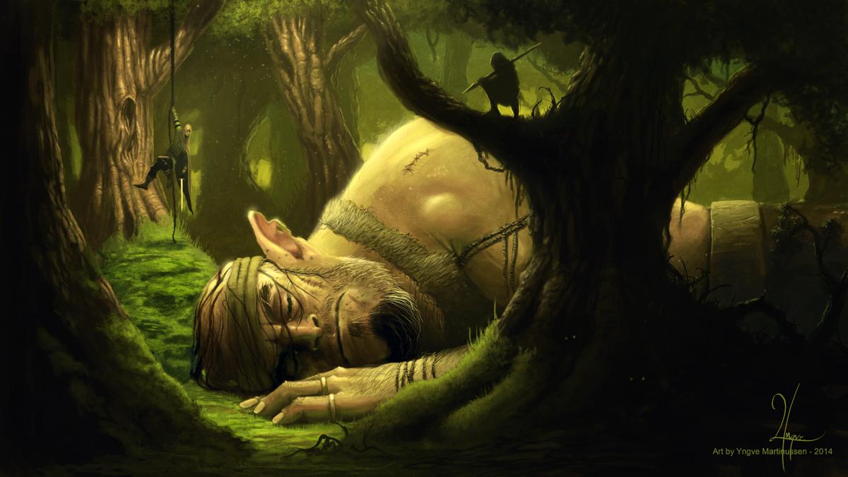 The Sleeping Giant by YngveMartinussen