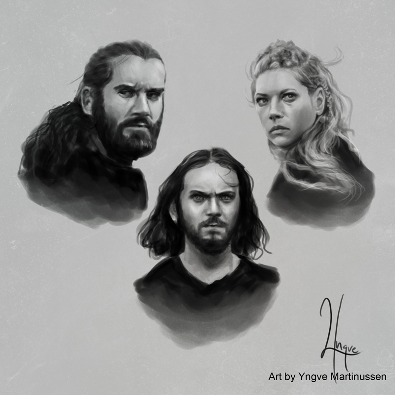 Vikings sketches 02 by YngveMartinussen
