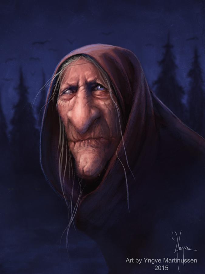 Ye Olde Crone by YngveMartinussen