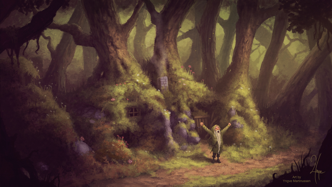 Home of the forest dweller by YngveMartinussen