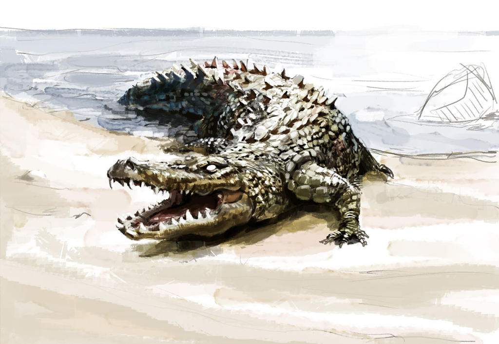 Crocodile by SirSlaxalot